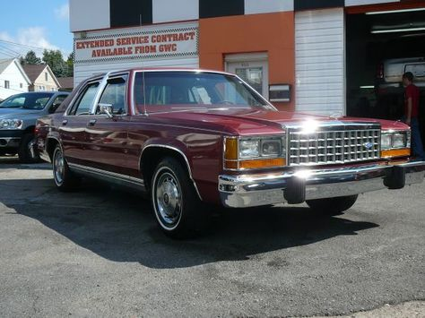 1985 FORD LTD CROWN VICTORIA - LOW MILES Picture Cars - extended service contract
