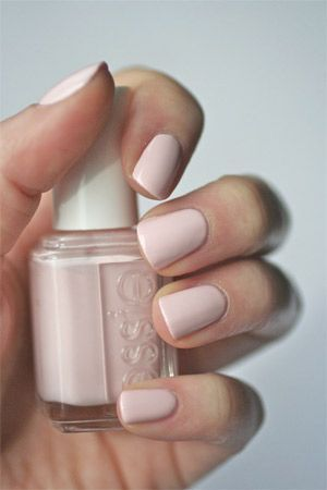 Essie Ballet Slippers Bridal Inspired Nail Brides Of Adelaide Nail Polish Essie Manicures Pretty Nail Colors