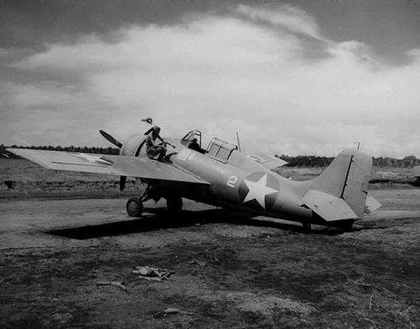"""Cactus Air Force"" Grumman F4F Wildcat - Henderson Field, Guadalcanal - August 1942"