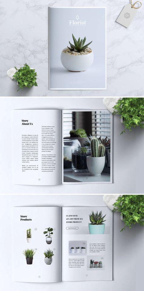 Florist Brochure Design