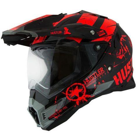 Hustler dirt bike helmet