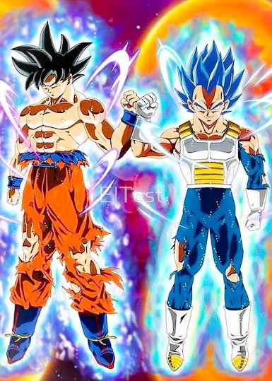Goku And Vegeta Ultra Instinct Goku Et Vegeta Dessin Goku Dessin Sangoku