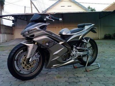 Franklindutra Yamaha Spark 135 Cc Thailand Modification Motorcycle