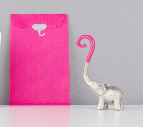 Elefant-Ring Stand Zinn Tier Ring Tree von NotaJewelleryBoxLtd