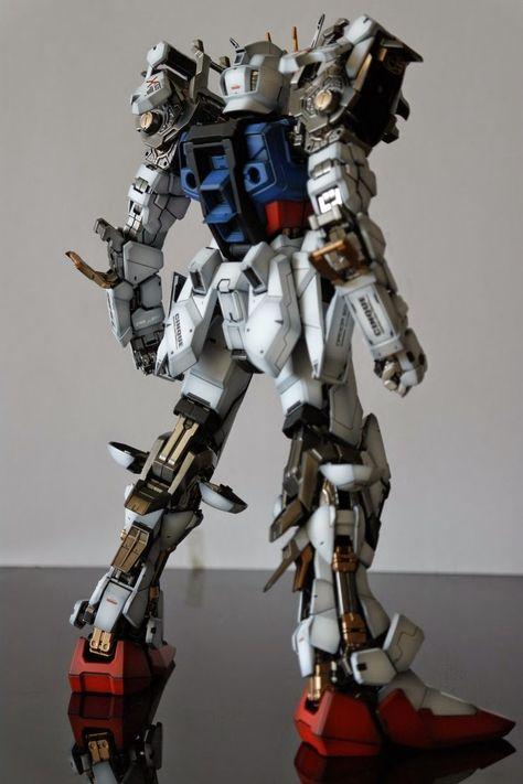 PG Strike Gundam 'Open Maintenance Hatch' - Customized Build Modeled by Skull
