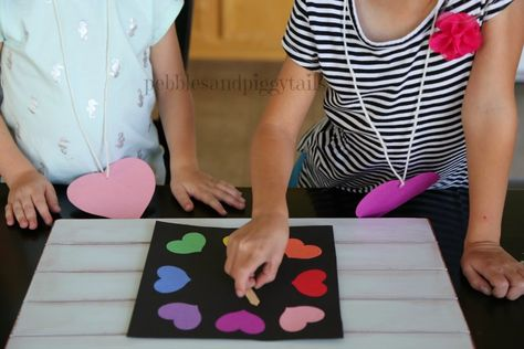 This LOVE GAME FOR KIDS is an easy activity to create more kindness and love at home. Simple to make and easy to play game for kids of all ages. Reminds families of what is most important.  Free Printable Love Game that is perfect for church, family home evening, LDS Primary, school, teaching ideas, preschool, scouts and more!