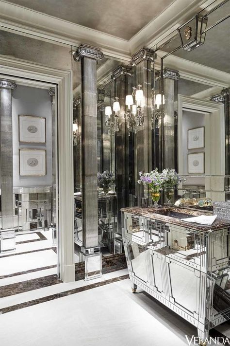 This season is all about silver and gold. Here are 23 ways to use the chic combination in your home now.