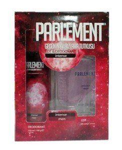 Parlement Intense Erkek Parfum Deodorant Seti 2 Li Paket Parfum