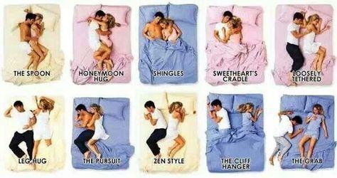 Ways to cuddle best Cuddling in