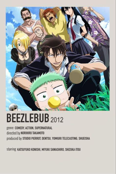 Beezlebub Minimalist Anime Poster
