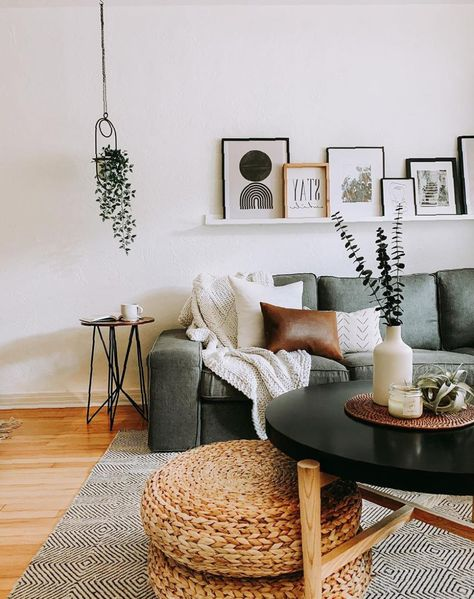 42 Amazing Design Ideas For Your Small Living Room Page 14 Boho Living Room Amazing Design Ideas Living page Room Small Ikea Living Room, Boho Living Room, Cozy Living Rooms, Living Room Chairs, Living Room Furniture, Cute Living Room, Barn Living, Living Room Trends, Ikea Bedroom