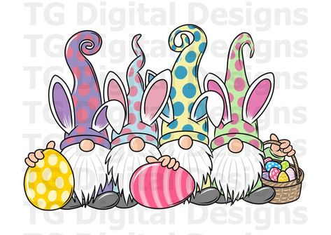 Easter Paintings, Happy Paintings, Easter Crafts, Holiday Crafts, Gnome Paint, Magic Doodle, Easter Drawings, Easter Wallpaper, Bunny Painting