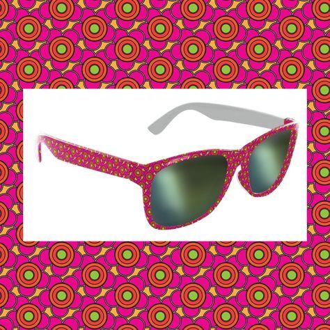 Custom sunglasses designed by MegaGlam for Franklin Street Works ©kHyal 2014 MegaGlam.com