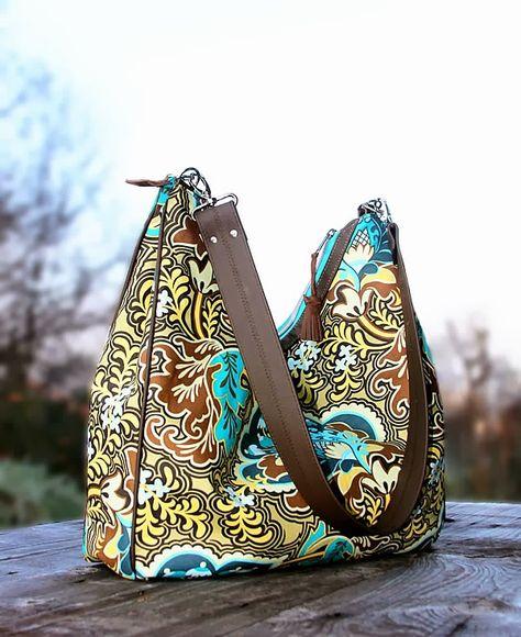 Zita eine Tasche mit Details aus Leder (machwerk