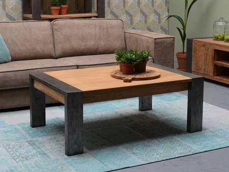 Table Basse Dabong 120 X 80 Cm Teck Massif Mobilier De Salon