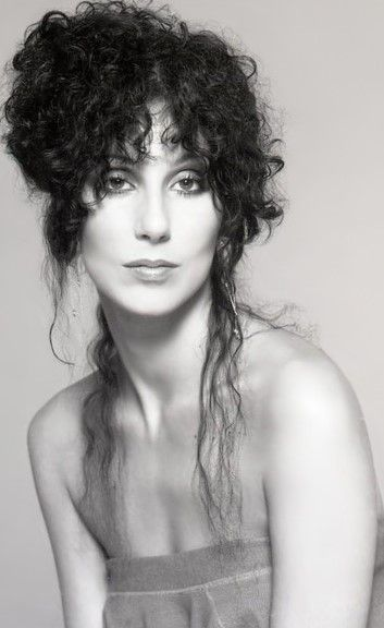 I love this photo of Cher, just love it.