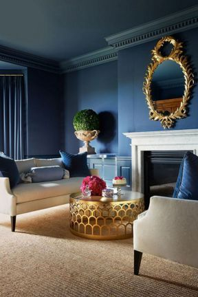 20 Stunning Ice Blue Living Room Design Ideas For Inspiration