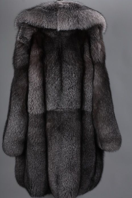 9dc7594208727 Blue Frost Fox Mens Fox Fur Coat w 2019   fur