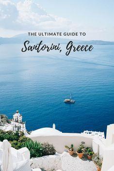 The Ultimate Guide to Santorini, Greece – Bon Traveler