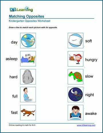 Opposites Opposites Preschool Senses Preschool Teaching Vocabulary