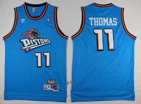cf335f594dcf ... Mens Detroit Pistons 11 Isiah Thomas Teal Green Hardwood Classics Soul  Swingman Throwback Jersey NBA jersey ...