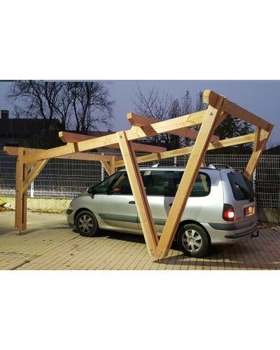 Kit Charpente 1 Pan Eco Bac Acier Charpente Carport Bois Dessins Carport
