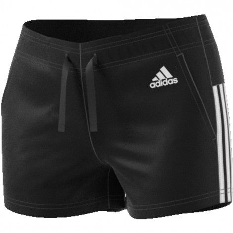 adidas Essentials 3-stripes short dames black - Adidas ...