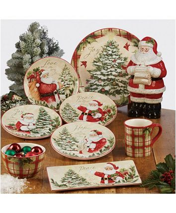 Certified International Holiday Wishes Collection Reviews Dinnerware Dining Macy S Holiday Wishes Christmas Dinnerware Holiday