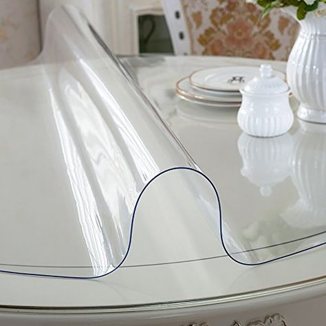 Magilona Home Round Tablecover Waterproof Pvc 1 5mm Thick