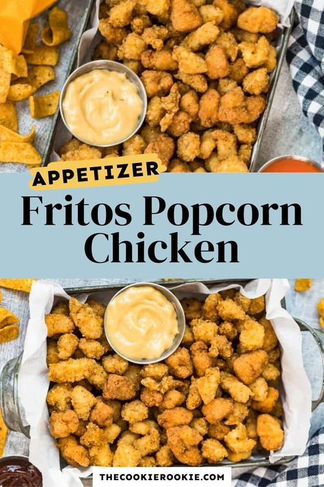 Fritos Popcorn Chicken