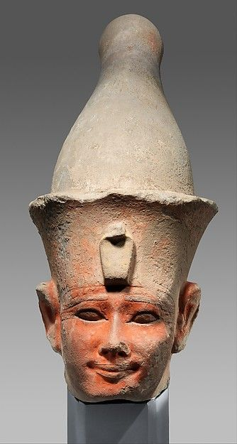 (FAKE) Colossal Head of Senwosret I | Middle Kingdom | The Met