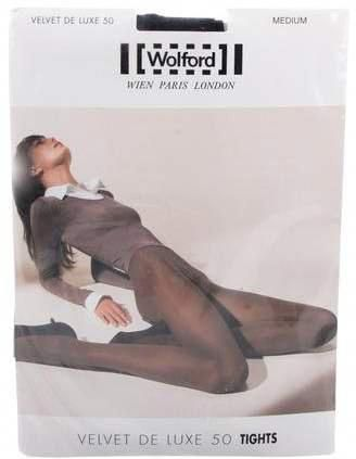 Wolford Velvet De Luxe 50 Semi-Sheer Tights w/ Tags - Accessories -