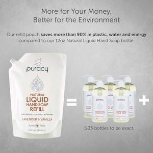 Natural Liquid Hand Soap Puracy Products Household Liquid