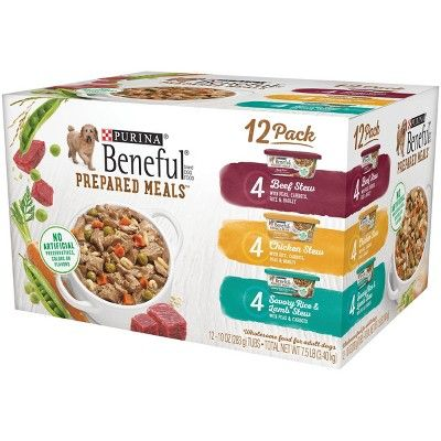 Beneful Prepared Meals Wet Dog Food Variety Pack 12ct In 2019