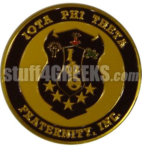 Iota Phi Theta Wooden Crest Adhesive Back NEW!!!