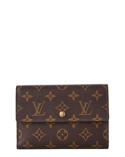 46be967f5d7 Rue La La — Louis Vuitton Monogram Canvas Alexandra Wallet | Trust ...