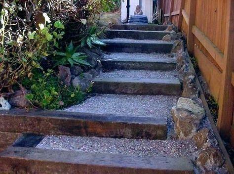 Landscape Steps Build Landscape Stairs Building Landscape Stairs