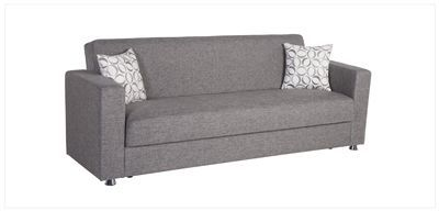 Tokyo Convertible Sofa Bed Click Clack In Diego Gray By Istikbal