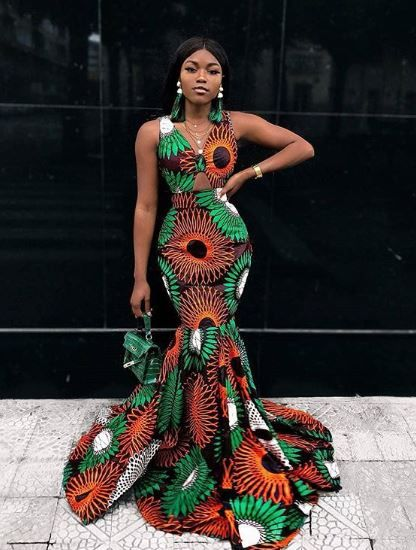 Latest Ankara Styles For Slim Ladies Photos Fabwoman Long African Dresses African Fashion Ankara African Fashion Dresses