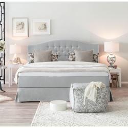 Boxspringbetten Graues Bett Schlafzimmer Einrichten Und