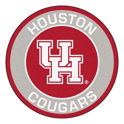 FanMats 21727 University of Houston Roundel Mat 27