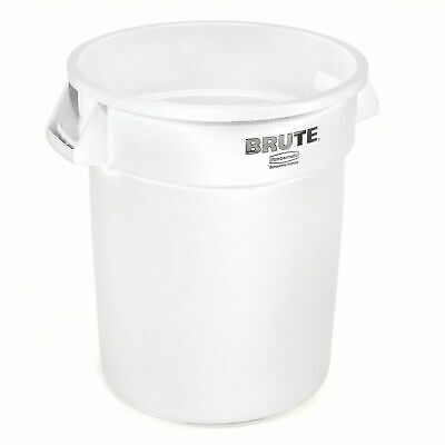 Sponsored Ebay Rubbermaid Brute Trash Container 10 Gallon White Lot Of 1 Trash Containers Rubbermaid Containers For Sale