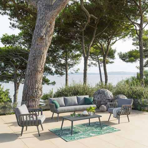 Cet été craquez pour un salon de jardin moderne avec le ...