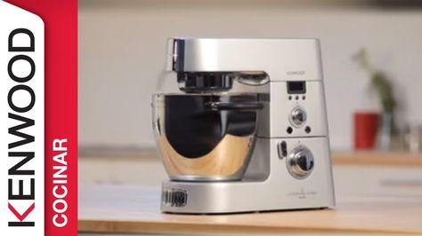 Guia De Inicio Rápido Para El Robot De Cocina Cookig Chef Kenwood Robot De Cocina Videos De Recetas Chef