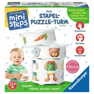 Baby Kleinkindspielzeug Baby Kleinkindspielzeug Ravensburger Ministeps Mein Stapel Puzzle Turm Baby Spielzeu Spielzeug Fur Kleinkinder Puzzle Lernspiele