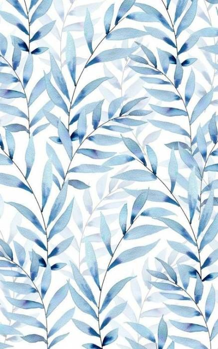37 Trendy Wall Paper Pattern Blue Leaves Blue Background Wallpapers Phone Wallpaper Images Pattern Wallpaper