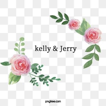 Wedding Invitation Wedding Invitations Greeting Cards Thank You Card Card Text Border Wreath Decorative Watercolor Flower Vector Vector Flowers Flower Graphic
