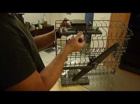 Kitchenaid Upper Rack Roller Repair Kitchenaid Dishwasher Dishwasher Racks Dish Racks