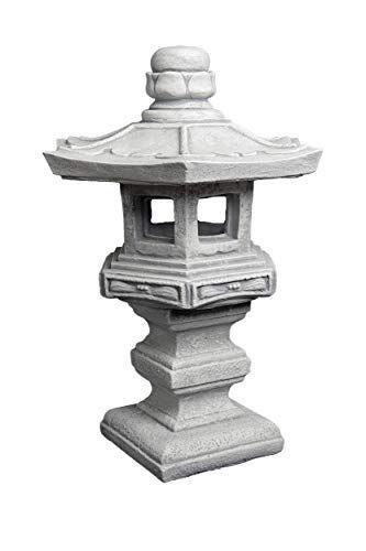 R/ésistant au gel En pierre Grande lanterne japonaise
