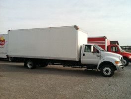 Ford F 650 24 Utilimaster Straight Truck For Sale At Work Truck